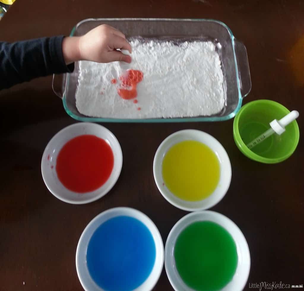 science experiements for kids with baking soda