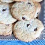 Easiest Chocolate Chip Cookies You Will Ever Make – Chocolate Chip Cake Cookies
