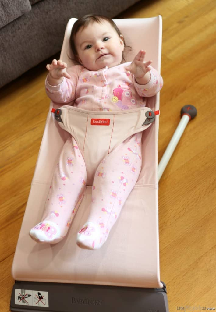 baby bjorn bouncer mini review compact lightweight bouncey chair