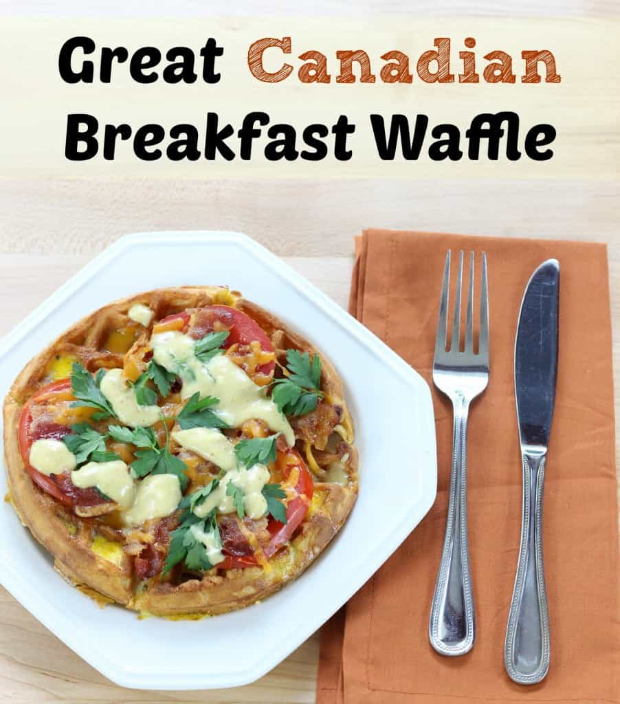 great canadian breakfast waffle recipe