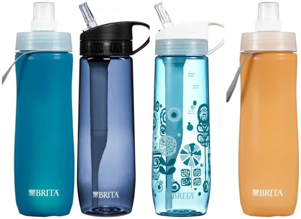 portable water filter water brita bottle