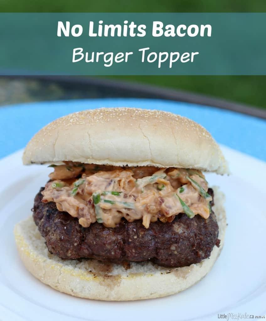 no limits bbq sauce bacon burger topper recipe