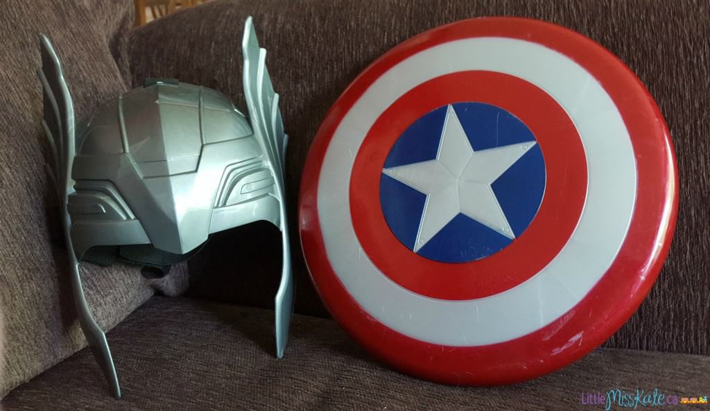 avengers dress up costumes cheap thor mask captain america shield
