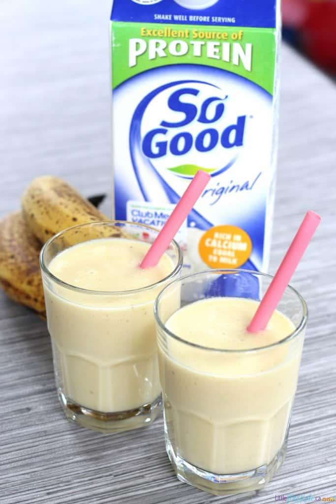easy mango pineapple dairy free smoothie recipe