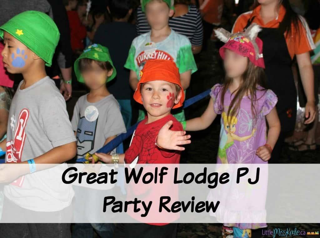 Great Wolf Lodge Niagara Falls PJ Party Review