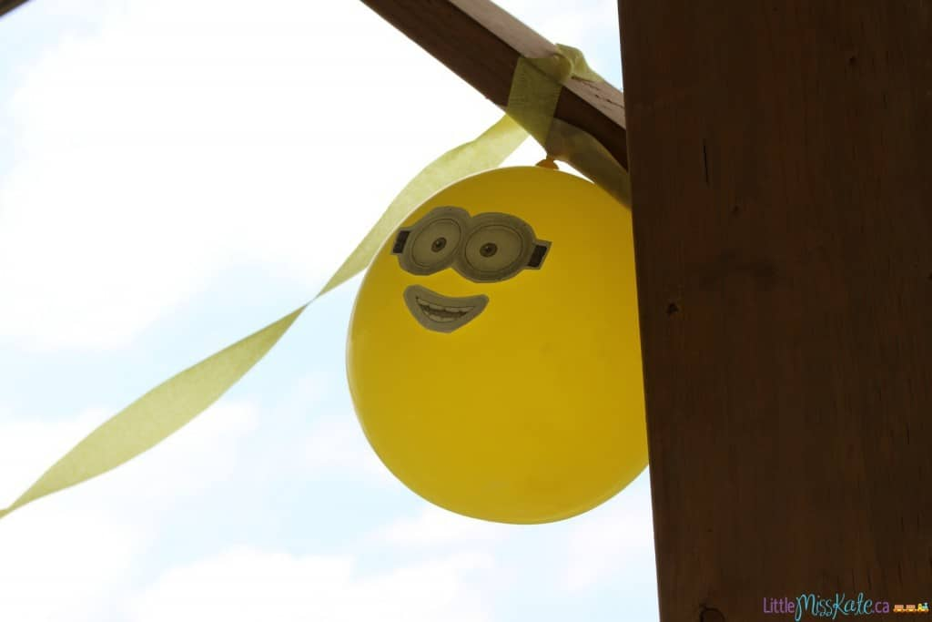 minions birthday party ideas decorations ballons
