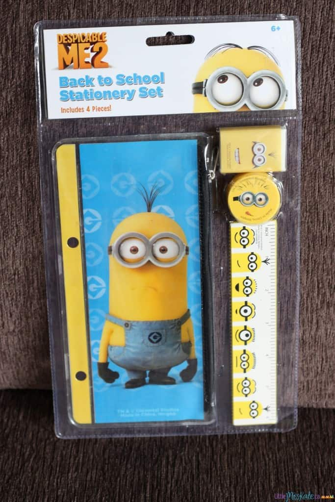 Minions birthday party ideas loot bags