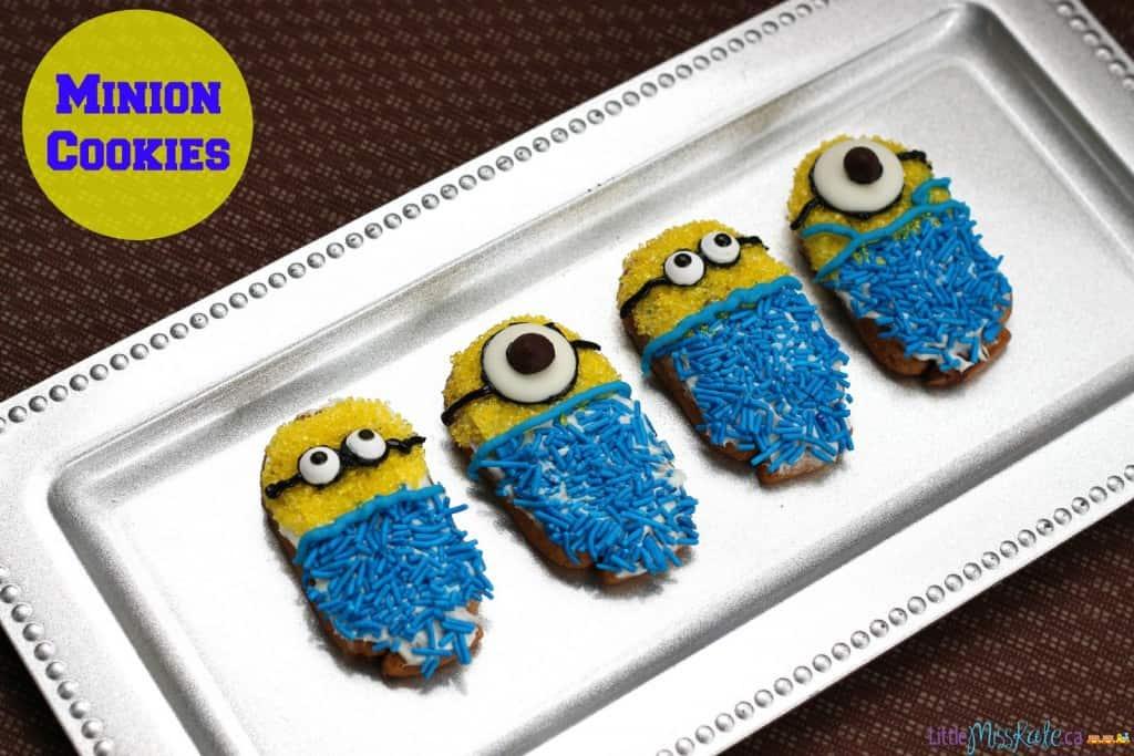 minions birthday party idea food minion cookies