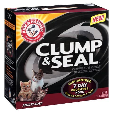 arm and hammer clump and seal cat litter