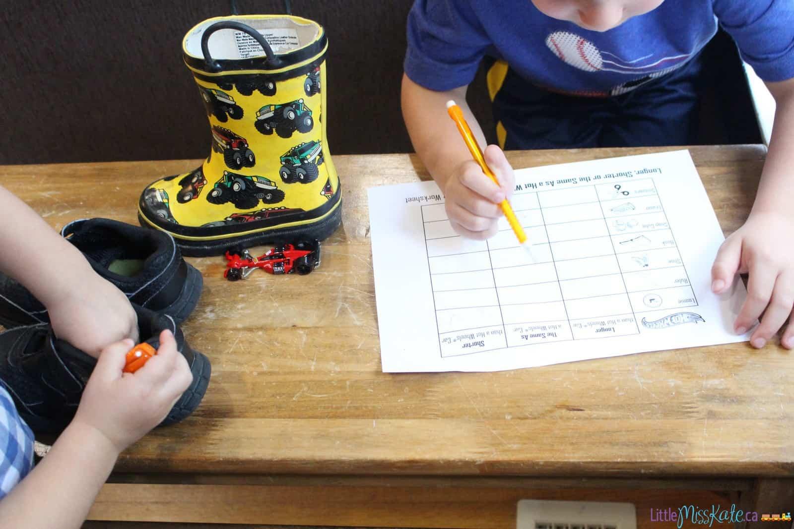 free math games for preschoolers