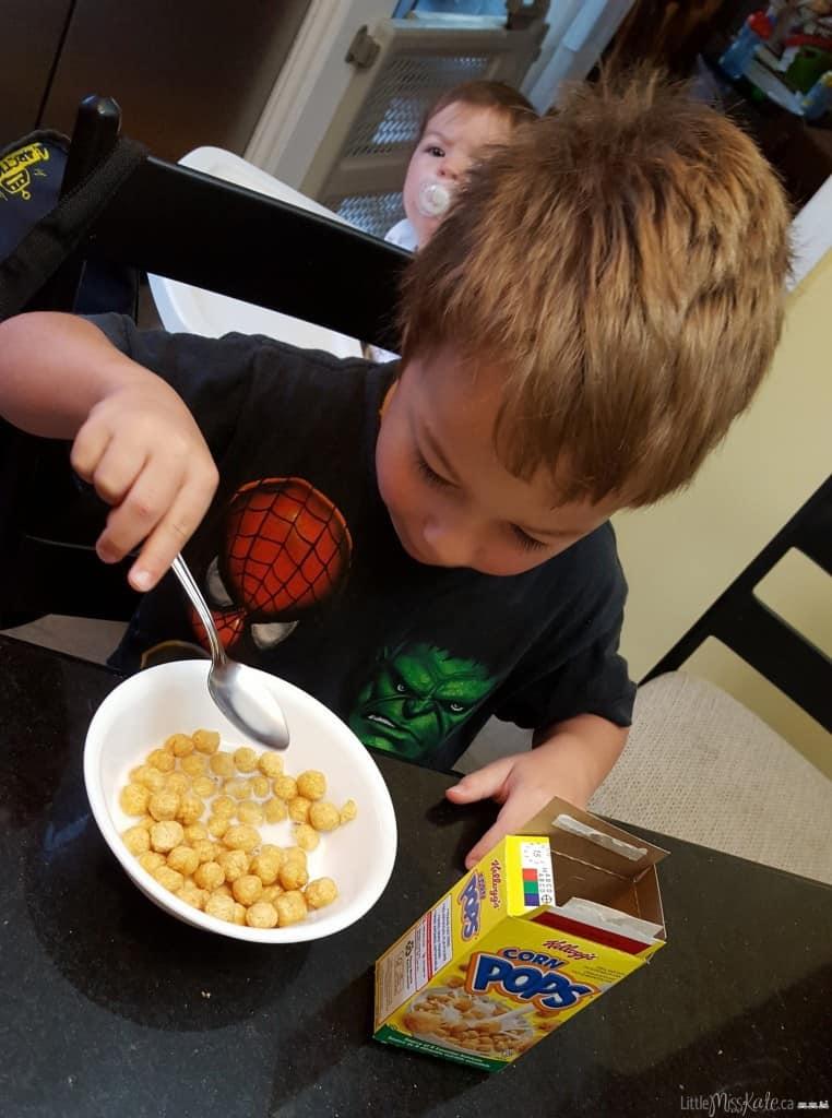 kelloggs breakfasts for better days challenge importance of breakfast