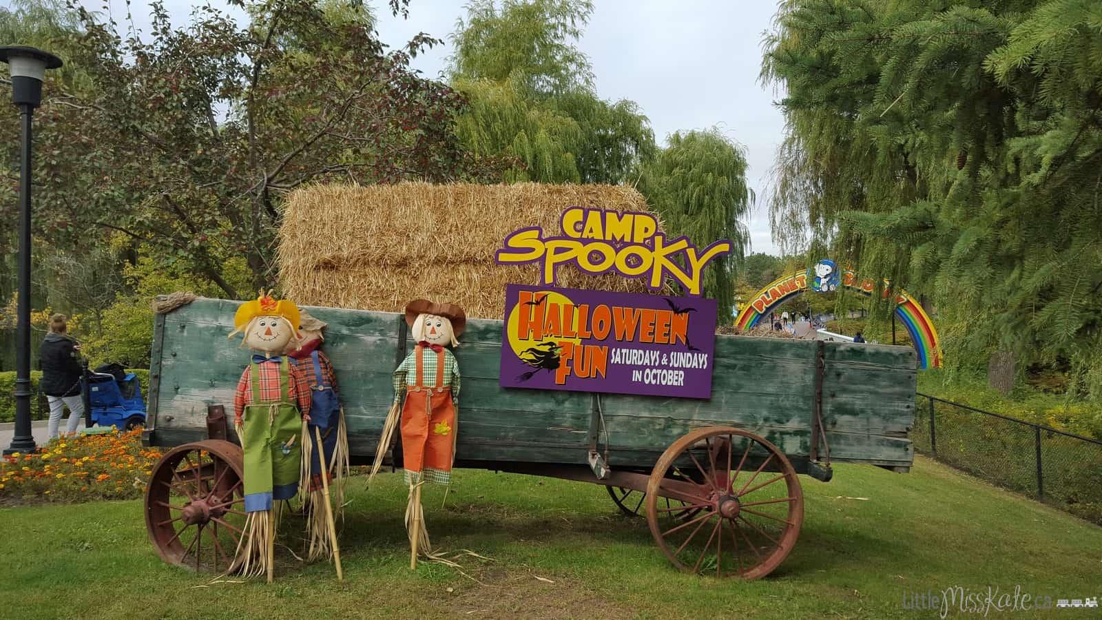 Camp spooky canadas wonderland halloween