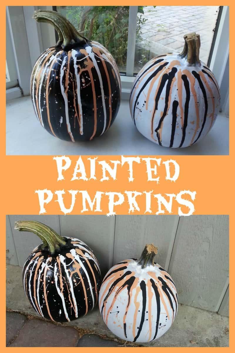 Pumpkin Decorating Ideas - Painted Pumpkins - Little Miss Kate
