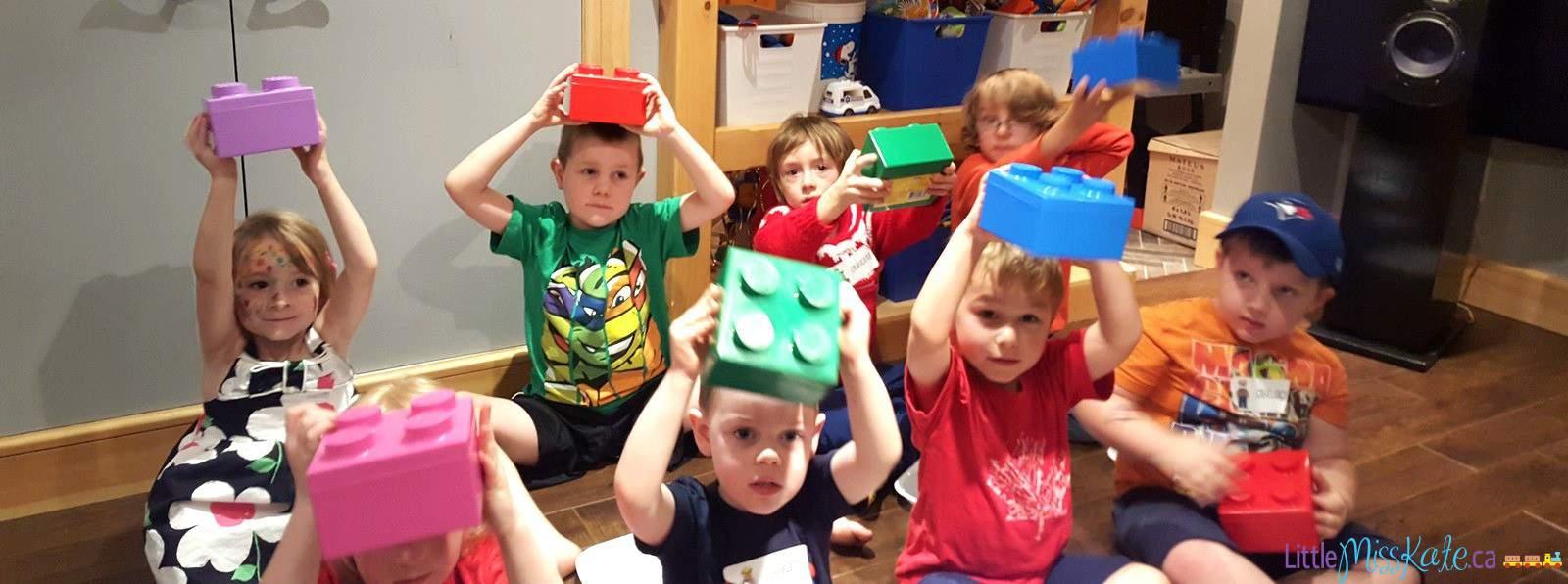 kids n bricks lego birthday party ideas