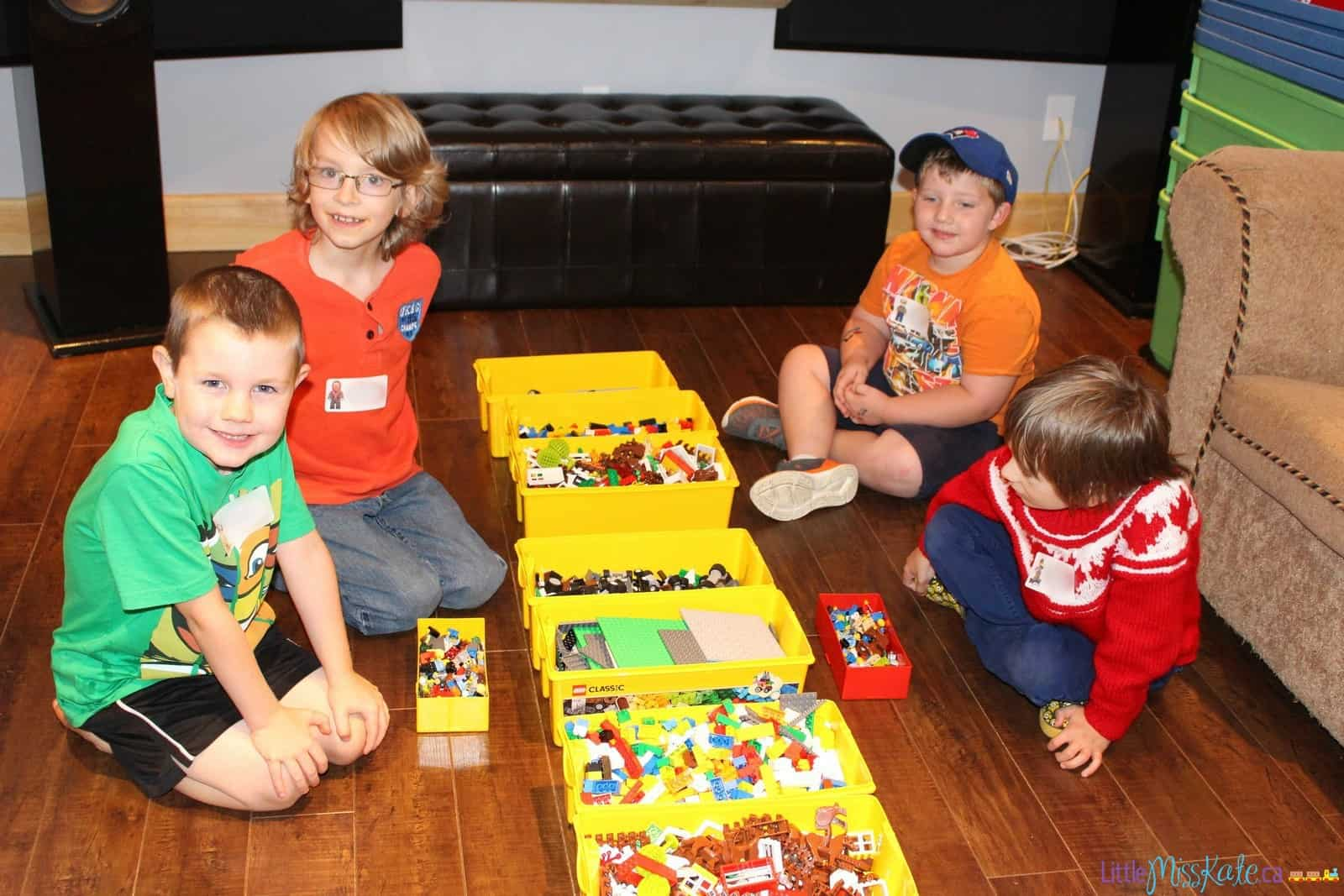 Lego Birthday Party Games and Entertainment with kids n bricks ...