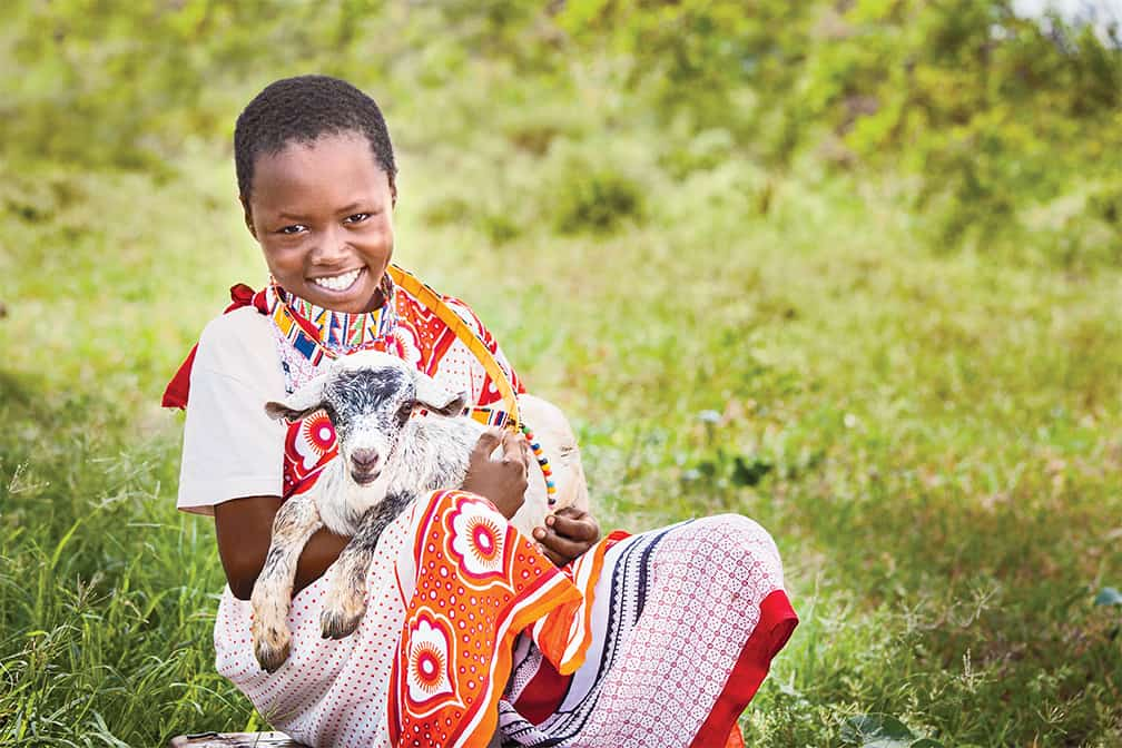 give a goat for christmas gift giving with meaning world vision gifts