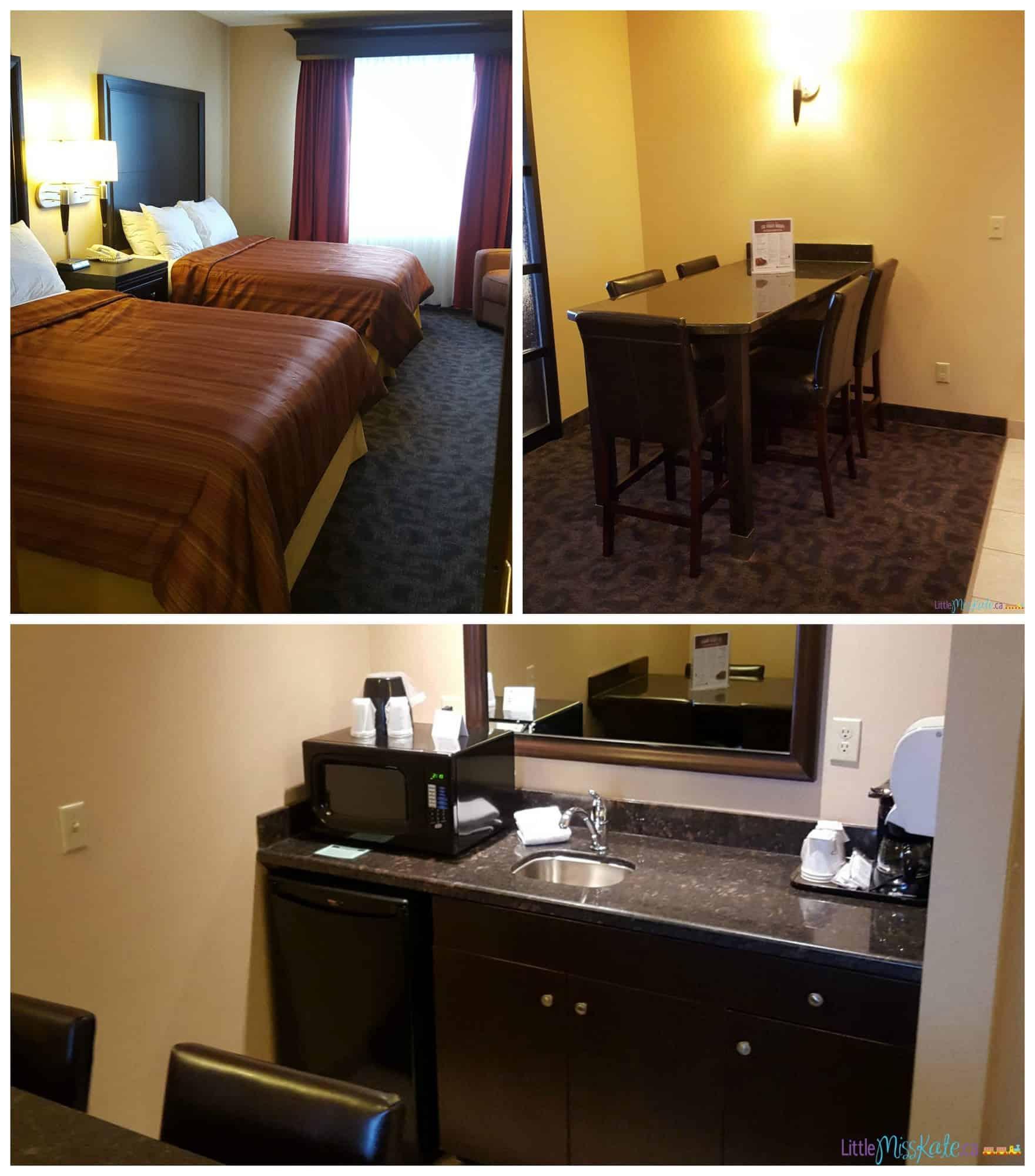 americana waterpark resort hotel room 2 bedroom suite review