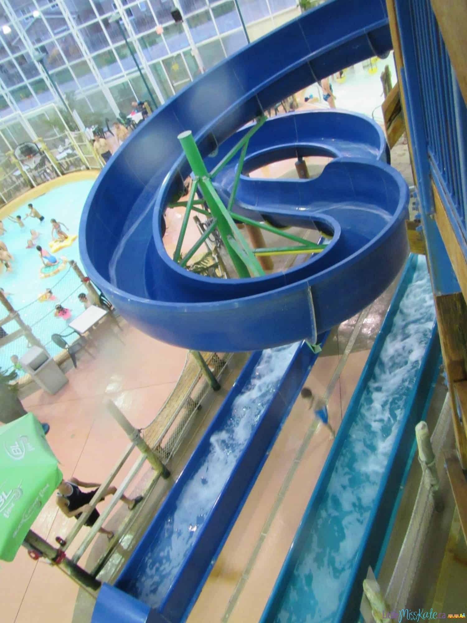 americana waterpark resort niagara falls review water slides