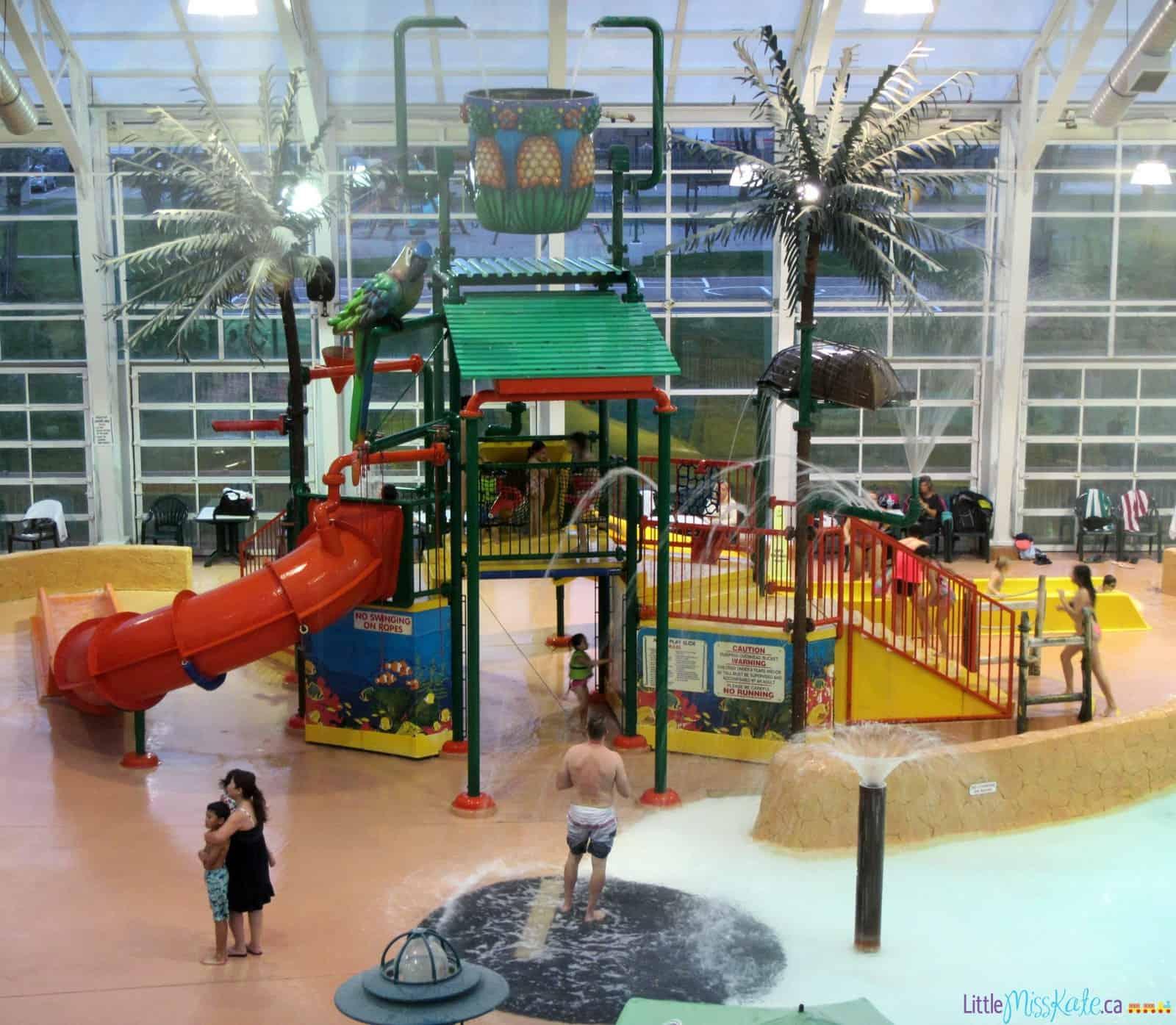 americana waterpark resort niagara falls review kids water slides