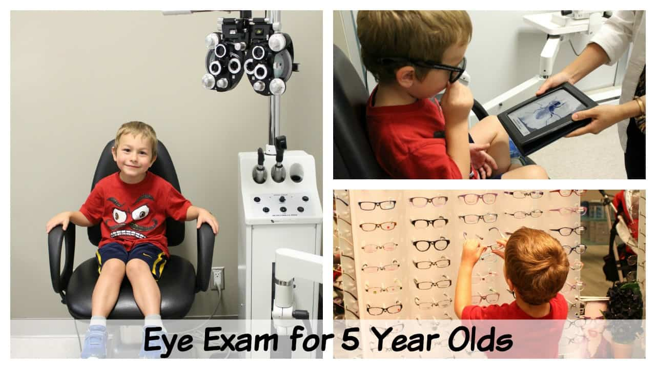 eye exam for 4 or 5 year old kindergarten children what to expect