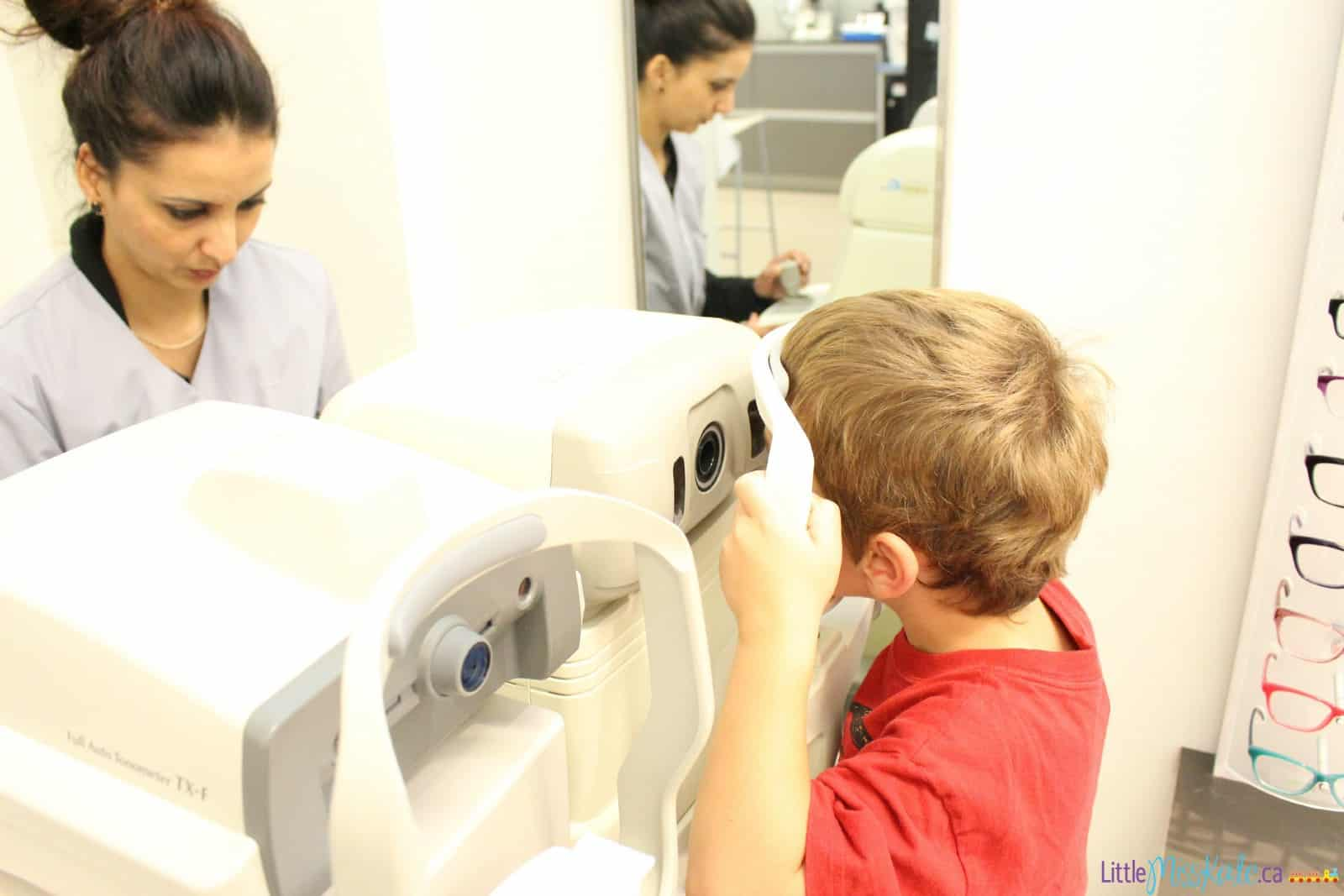eye exam for 5 year old