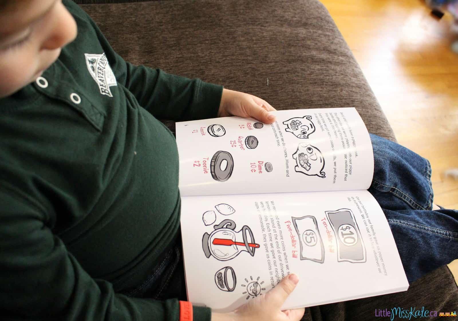 how to teach canadian preschooler kids about money