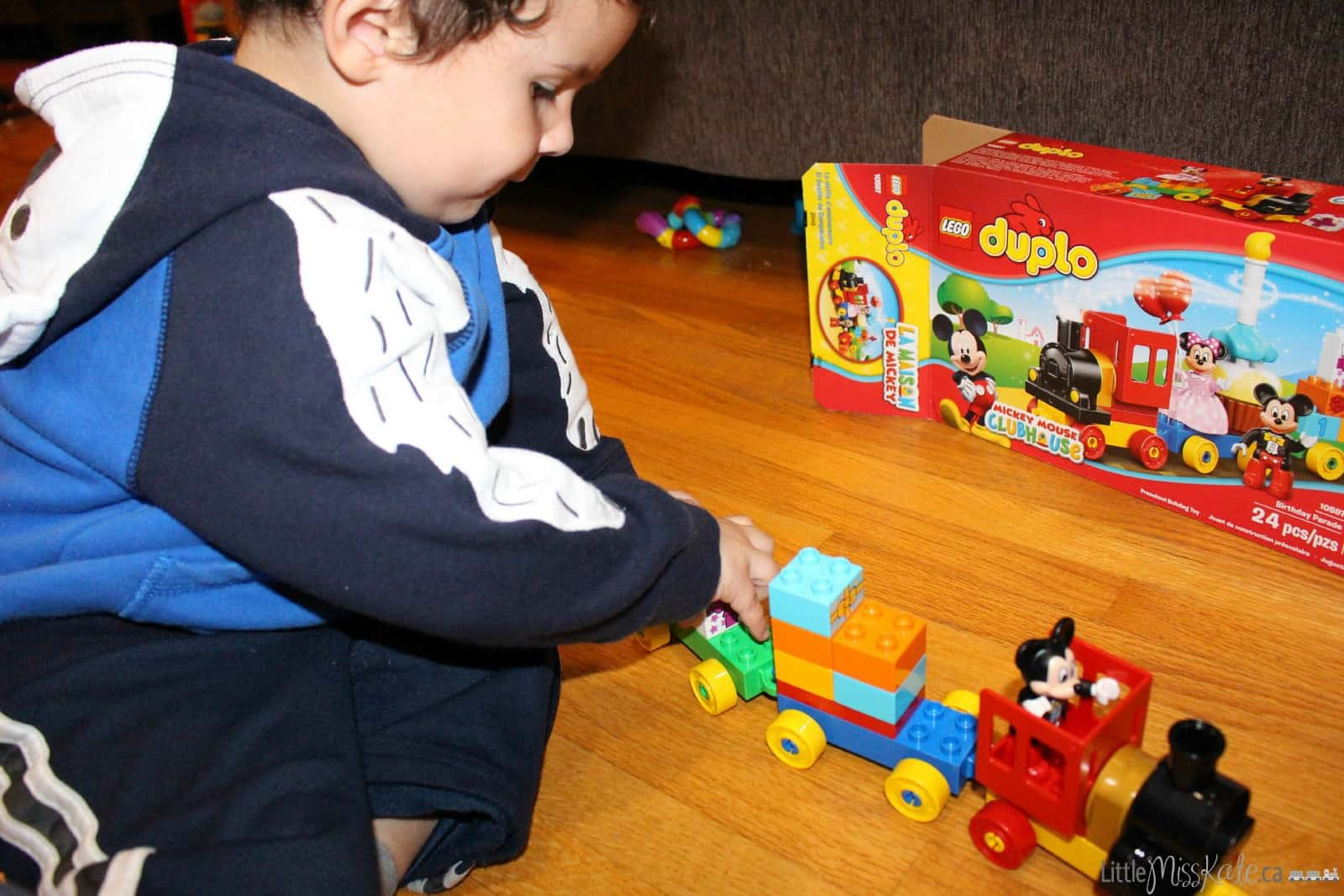 lego duplo for toddlers mickey mouse train