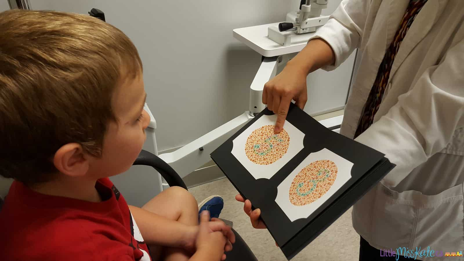 what to expect at eye exam for children
