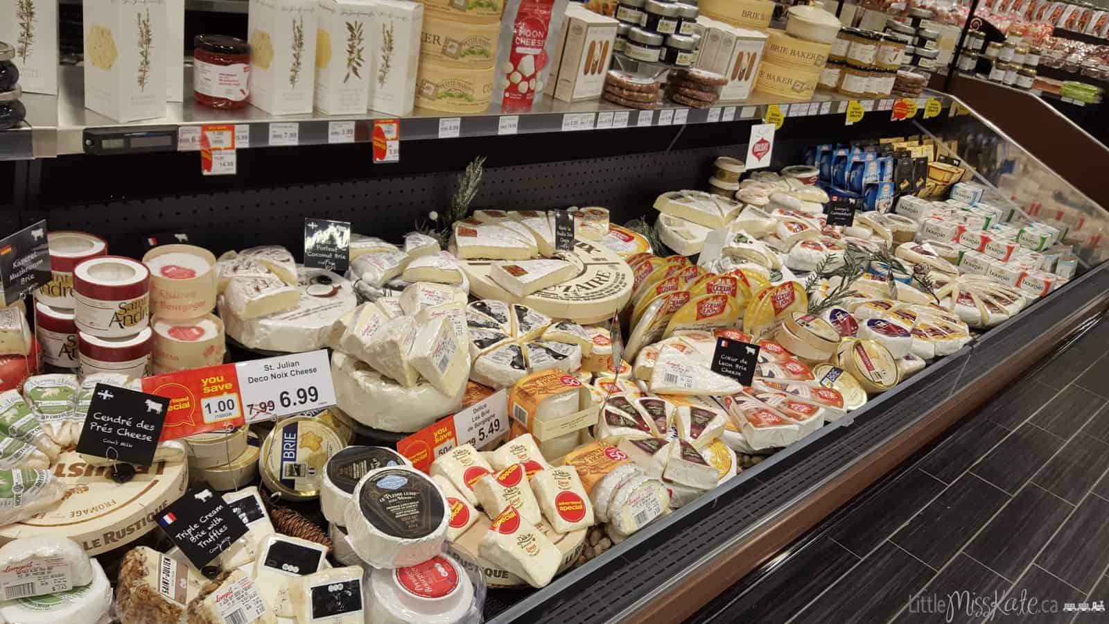 cheese selection longos