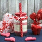 DIY Mason Jar Gift Idea – Hot Strawberry Drink Mix