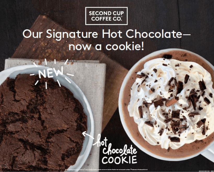 Hot Chocolate Cookie Creative