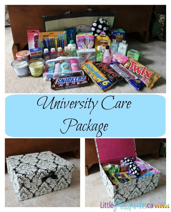 University-care package ideas