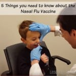 5 Things you need to know about the Nasal Flu Vaccine