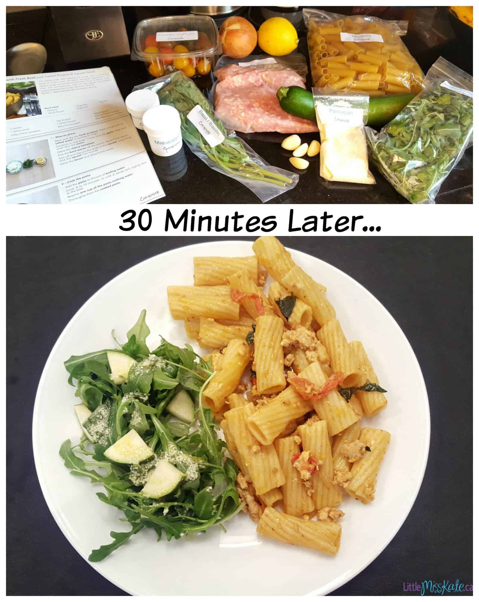 GoodFood home meal delivery service ontario recipes