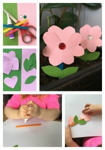 Easy Mother's Day Craft Popsicle Stick Flowers