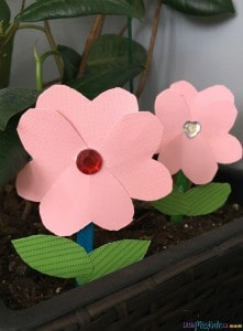Easy Mother's Day Craft Popsicle Stick Flower