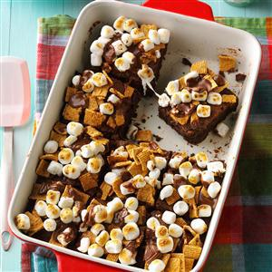 Fudgy S'mores Brownies Recipe by Taste of Home