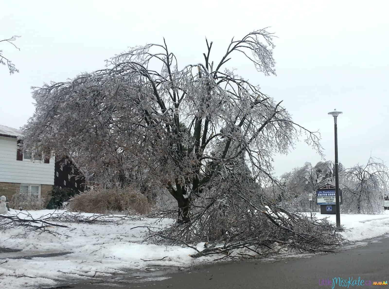 Ice storm 2013 what to pack in emergency preparedness kit