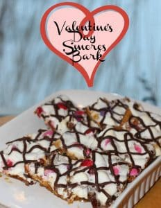 Valentines Day Smores Bark by Little Miss Kate