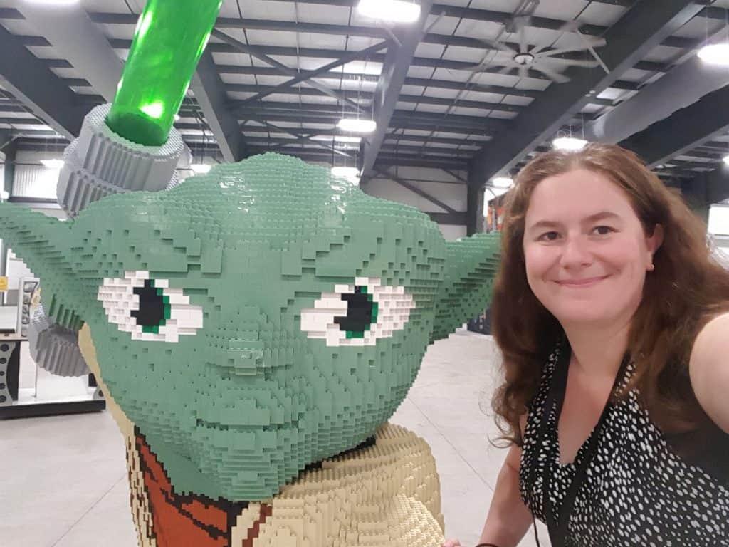 Lego imagination tour canada LEGO Yoda