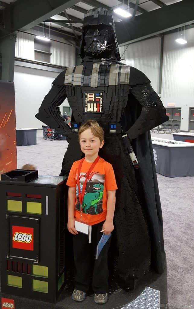 Lego imagination tour canada LEGO darth Vader