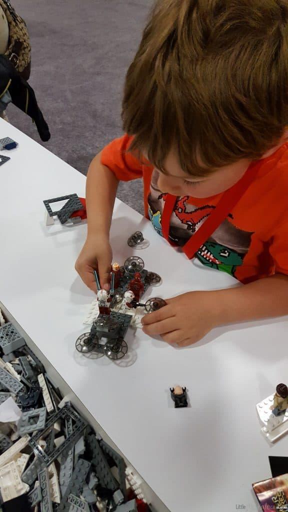Lego imagination tour canada Star wars LEGO