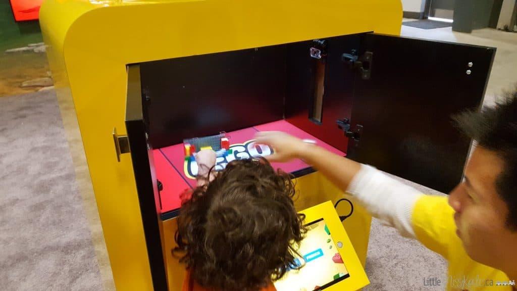 Lego imagination tour canada interactive games