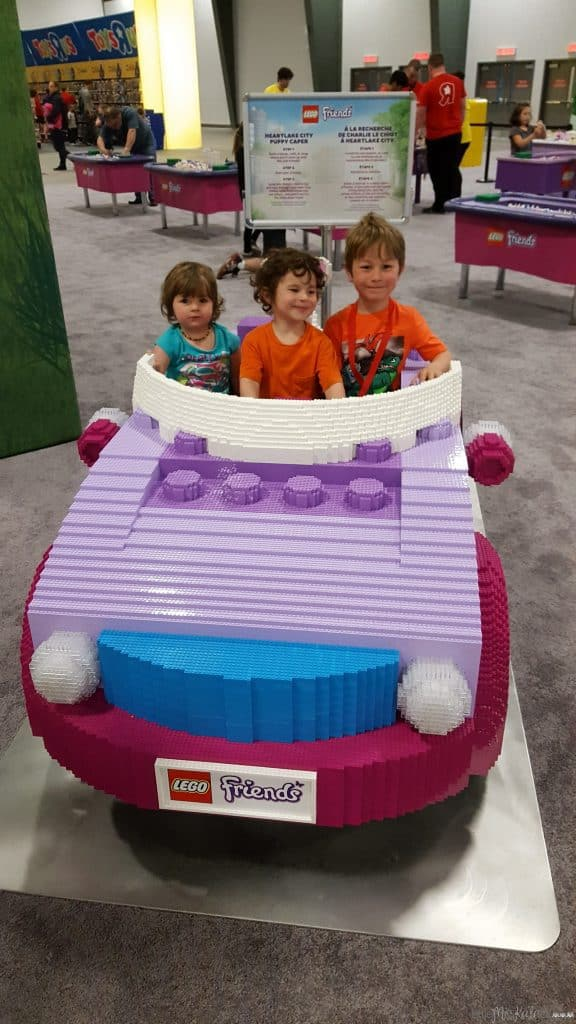 Lego imagination tour canada Lego friends car