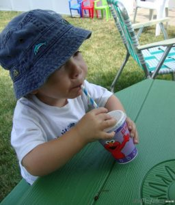 heat stroke treatment for kids