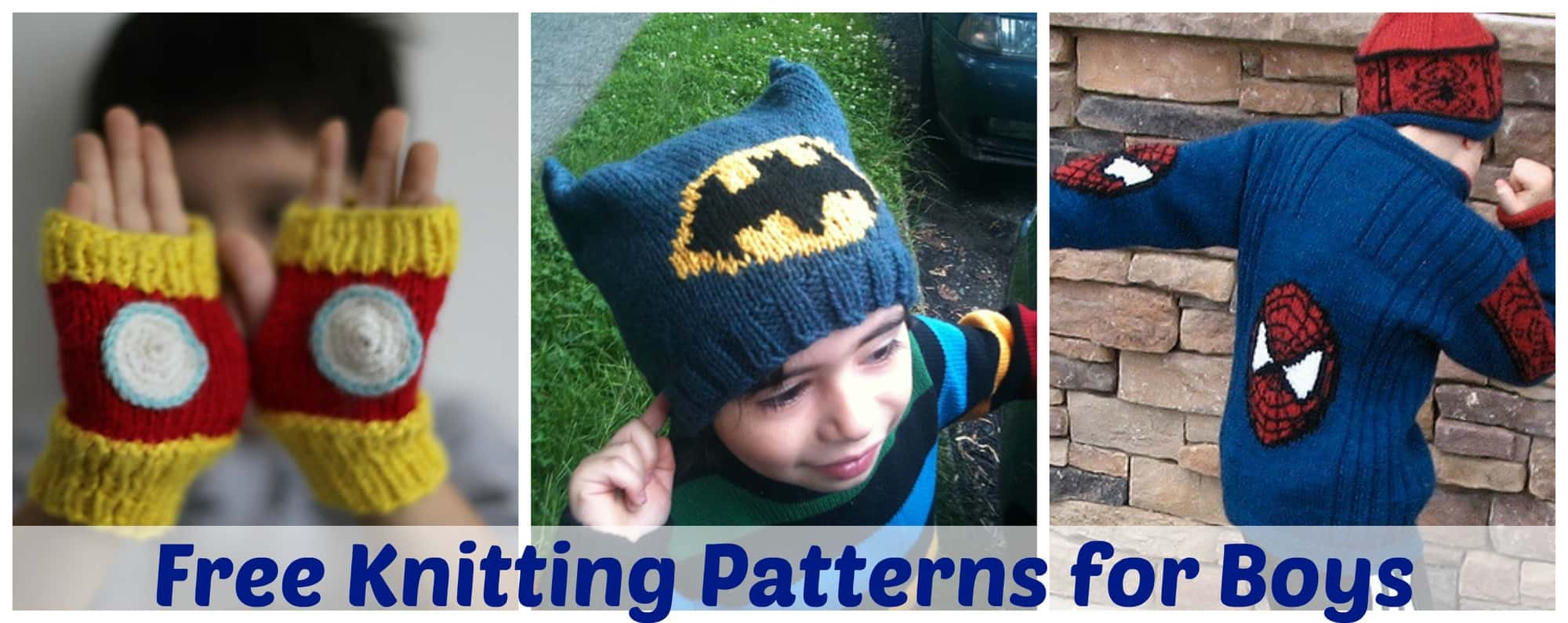 The huge list of free knitting patterns for boys little miss kate bankloansurffo Choice Image