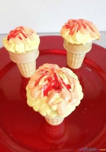 Fun and Easy Olympic Torch Cupcakes