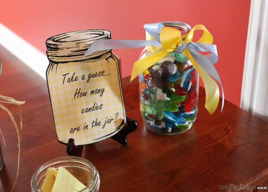 Rustic Country Themed Bridal Shower Ideas via LittleMisskate.ca