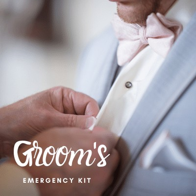 Groom's Emergency Kit