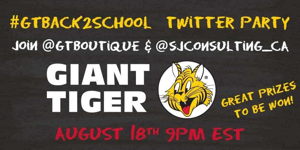 Giant Tiger Twitter Party